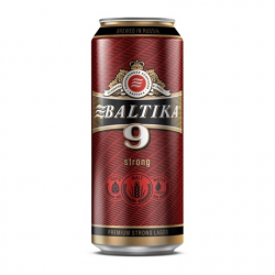 Pivo BALTIKA 9 alk.8 %  900ml