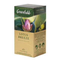 Зеленый чай Гринфилд  Лотос...