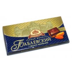 Temna čokolada z mandlji...
