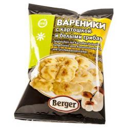 Вареники картофель с белыми...