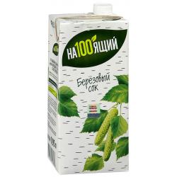 Brezov sok NA100JAŠČIJ 0,95L