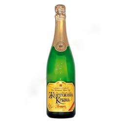 Шампанское белое полусухое...