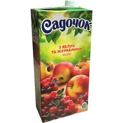 Sok jabolka-brusnica 0,95l