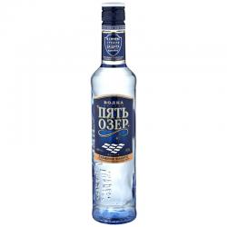 Vodka 5 Jezer, 0,5L