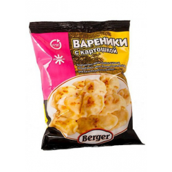 Вареники картофель Бергер...